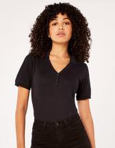 Regular Fit Sophia Comfortec® V Neck Polo Shirt
